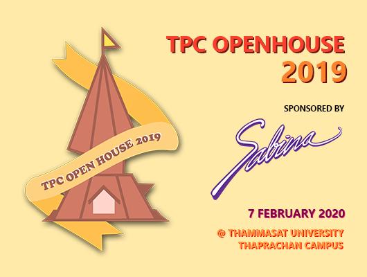 """บริษัท ซาบีน่า ฟาร์อีสท์ จำกัด  ร่วมเป็นส่วนหนึ่งในการสนับสนุนกิจกรรม """"Thaprachan Openhouse 2019"""""""