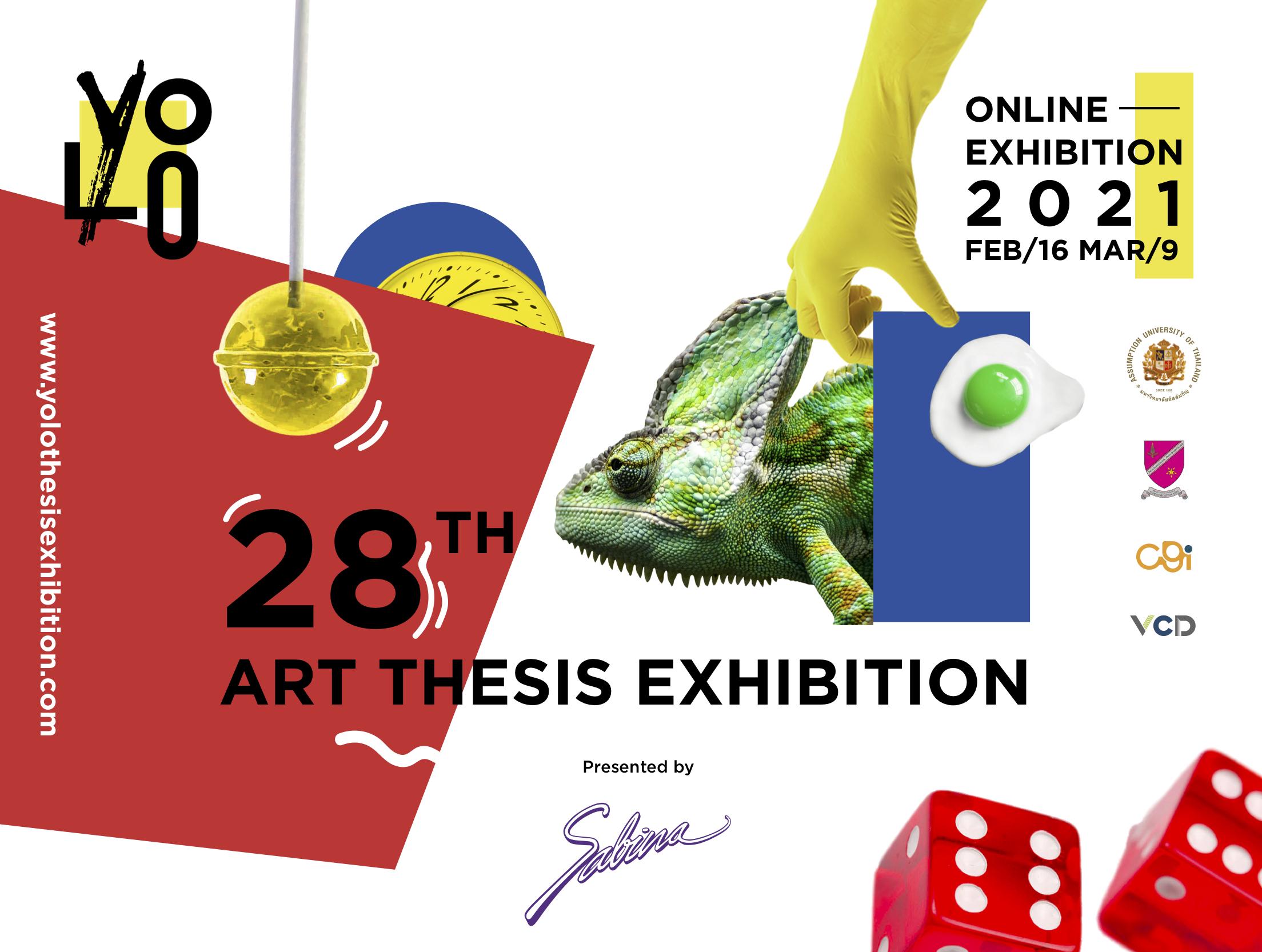 """บริษัท ซาบีน่า ฟาร์อีสท์ จำกัด ร่วมเป็นส่วนหนึ่งในการสนับสนุนกิจกรรม """"การแสดงผลงานศิลปนิพนธ์ YOLO( Art Thesis)"""""""